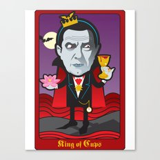 King of Cups Canvas Print
