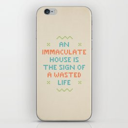 Wasted Life iPhone Skin