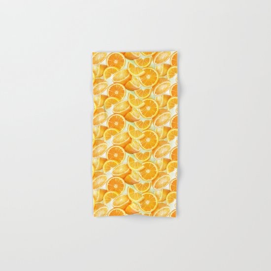 Oranges Hand & Bath Towel