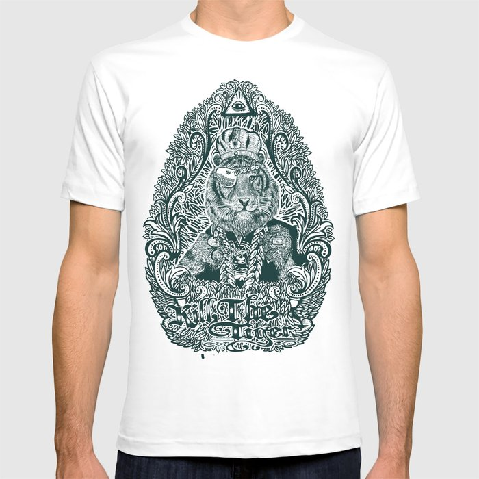 kill the tiger T-shirt