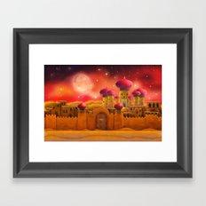 Aladdin castle Framed Art Print