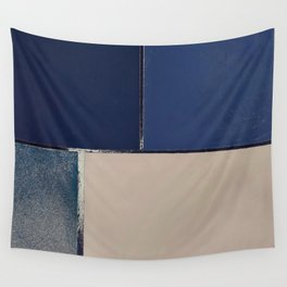Toned Down Denim Wall Tapestry