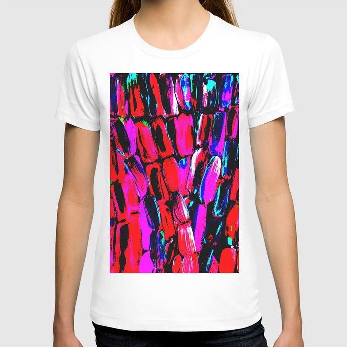 Dark Red Sugarcane T-shirt
