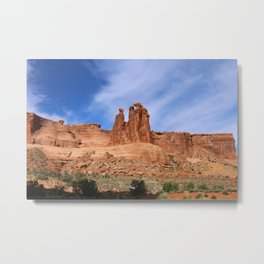 A Nature's Beauty The Gossips Metal Print