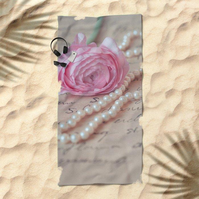 Pink Luxury Beach Towel