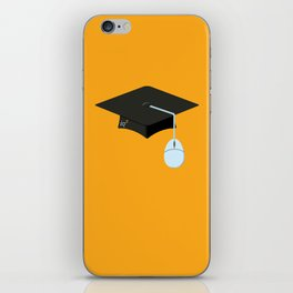 More Clicks, Fewer Bricks: The Lecture Hall Is Obsolete iPhone Skin