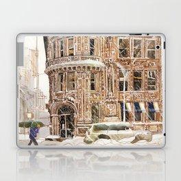 Winter in NYC Laptop & iPad Skin