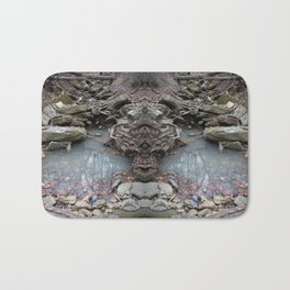 Mirrored Riverbed Bath Mat