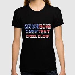 America's Greatest Creel Clerk T-shirt