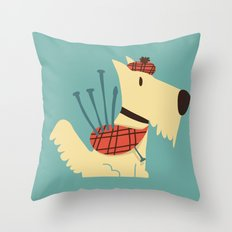Scottish  Terrier - My Pet Throw Pillow