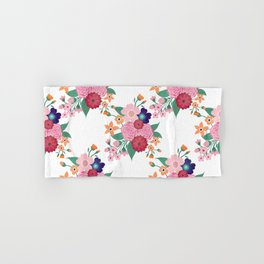 Pretty summer flowers design Hand & Bath Towel