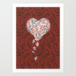 Pattern lovers Art Print