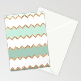 AVALON SEAGREEN 2 Stationery Cards