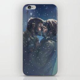 Winter Destiel iPhone Skin