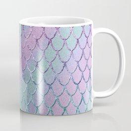 Mermaid Princess Glitter Scales Glam #1 #shiny #stripes #decor #art #society6 Coffee Mug
