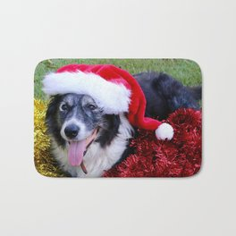 Christmas Wishes From Molly Bath Mat