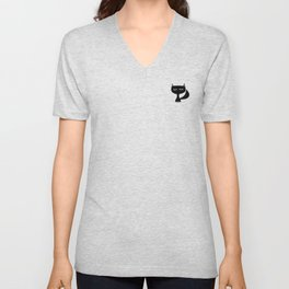 very small Unisex V-Neck