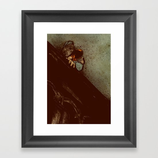 Waiting (2012 Version) Framed Art Print
