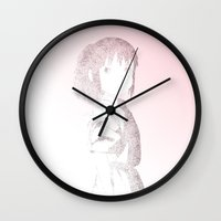 chihiro Wall Clocks featuring Chihiro by Aletifer