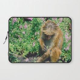 Monkey at the Royal Botanical Garden, Kandy, Sri Lanka Laptop Sleeve