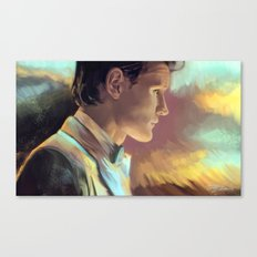 When good man goes to war Canvas Print