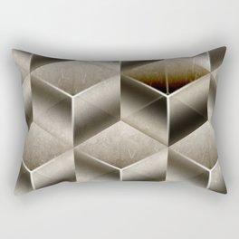 Cubist Rectangular Pillow