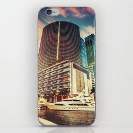 miami downtown iPhone Skin