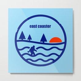 East Coast Yeti Metal Print