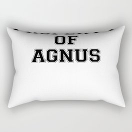 Property of AGNUS Rectangular Pillow