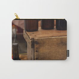 Wooden Crate - Seattle, WA Carry-All Pouch
