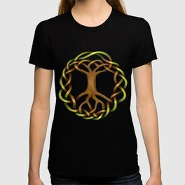 World Tree (Yggdrasil) Knot T-shirt