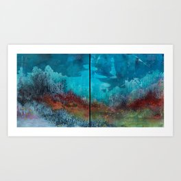 Lowland flush  Art Print