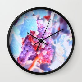 Wine before its Time Wall Clock
