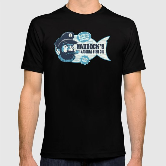 Haddock's Natural Fish Oil T-shirt