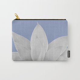 Lavender Lustre Agave #1 #tropical #decor #art #society6 Carry-All Pouch