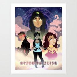 Eternity Elite Art Print