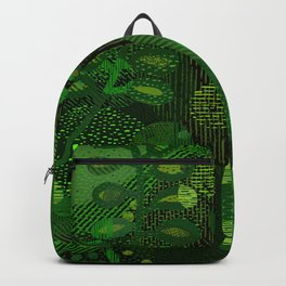 Green Jungle Layers 1 Backpack