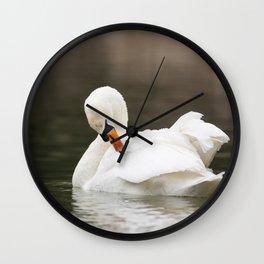 Mute Swan Wall Clock