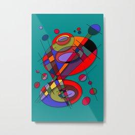 Abstract #50 Metal Print