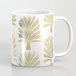 Palm Tree – Gold Palette Coffee Mug