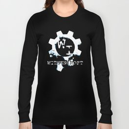 Reverse Logo! Great for Dark Shirts! Long Sleeve T-shirt