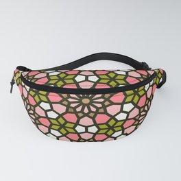 Persian Mosaic – Pink & Sage Palette Fanny Pack