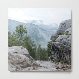 Mountain Mists Metal Print
