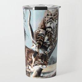 Bobcat Bayou painting Travel Mug