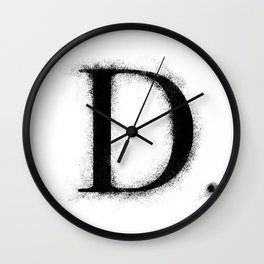 D. - Distressed Initial Wall Clock