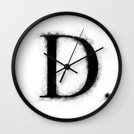 D. - Distressed Initial Wall Clock