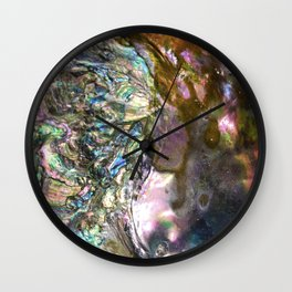 Mother of Pearl Wall Clock