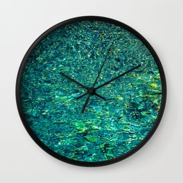 Painted Water Wall Clock