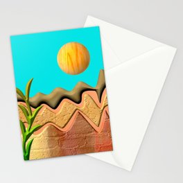 Mountain Worlds  Stationery Cards