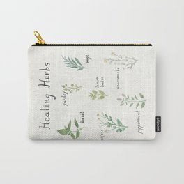 Healing Herbs Carry-All Pouch